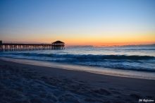Sunrise at Cocoa Beach, FL